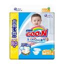 グーン テープ M (6〜11kg) 80枚 まっさらさら通気 ベビー用品 おむつ オムツ 赤ちゃん 肌にやさしい elleair エリエ…