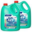 [2個セット]キッチンハイター 5kg 業務用 洗剤 厨房 漂白剤 除菌 消臭 Kao 2本セット プロフェッショナル 塩素系 【D…