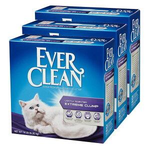 エバークリーン 小粒・芳香タイプ 6.35kg×3 送料無料 エバークリーン 猫砂 ペット用 猫用 ネコトイレ 活性炭配合 ベントナイト 悪臭対策 Everclean Cat Litter 【D】