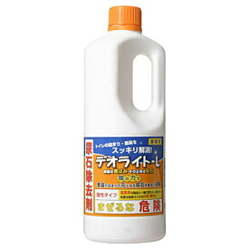 《A》(トイレ用洗剤) 業務用 デオライト-L 1kg 【D】