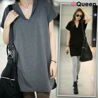 The popularity that chubby clothes Shin pull adult fashion is cheap in big size Lady's tunic dress tunic T-shirt tops dolman tunic / short sleeves utility clothes きゆるてろ plain fabric /L LL 2L 3L 4L 5L 6L 11 13 15 17 19 21 / black black gray / spring and s
