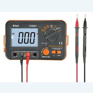 DIY工具 測定器 電気計測器 絶縁抵抗計 テスター デジタル 電池式 電圧