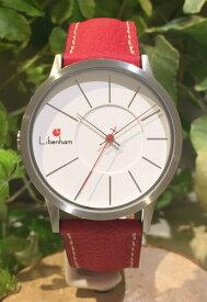 Libenham公式 libenham Landschaft LH90036-04 Leather-06(Red) [リベンハムラントシャフトシリーズ]
