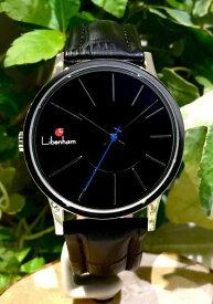 Libenham公式 Libenham Landschaft LH90036-17 Bluemoon【青い月光の湖】[リベンハム/ラントシャフト/自動巻き/レザーベルト/日本正規保証]