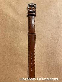 Libenham公式 Libenham Leather Strap-03(Light Brown/20mm)[リベンハム/ラントシャフト/別売り/ストラップ/ベルト/レザー/ライトブラウン/茶色/スモール/ミディアム/SMALL/MEDIUM]