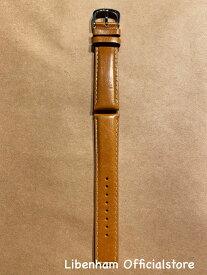 Libenham公式 Libenham Leather Strap-03(Camel/20mm) [リベンハム/ラントシャフト/別売り/ストラップ/ベルト/レザー/キャメル/スモール/ミディアム/SMALL/MEDIUM]