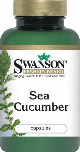 たっぷり100カプセル!乾燥なまこ粉末パウダーカプセル(Swanson Premium Sea Cucumber 500mgx100cps)