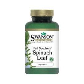楽々チラコイド摂取!たっぷり90カプセル!ほうれん草粉末パウダーカプセル(Swanson Full Spectrum Spinach Leaf 400mgx90cps)チラコイド含有(thylakoids chlorophyll)【RCP】