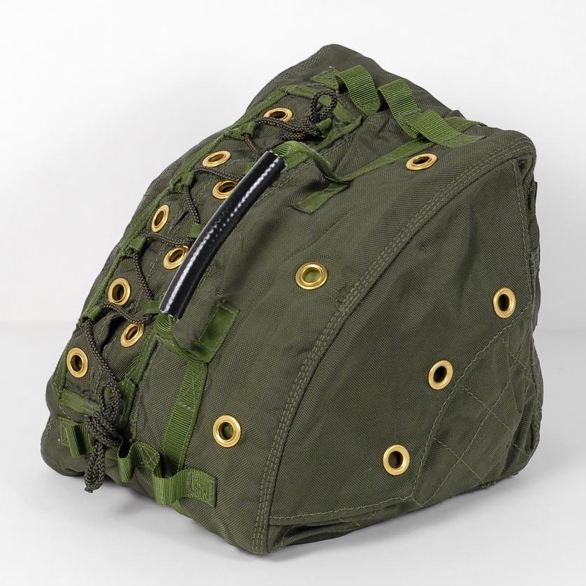 イギリス、OD.リメイク、パラシュートバッグ(新品) B14N