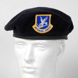 US.エアフォース、ディフェンサー、ベレー帽(新品)M51NB-