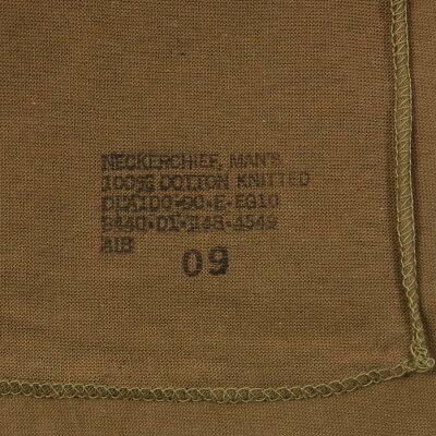 US.ブラウン、コットンスカーフ(新品)124N=