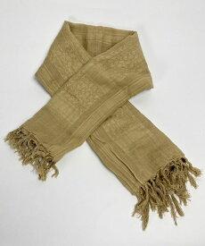イギリス、コヨーテ、アラビアンスカーフ(新品)91N-