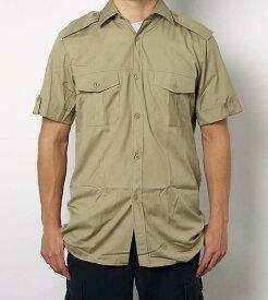 チェコ、M98.カーキ、半袖サービスシャツ(新品)E97SN=