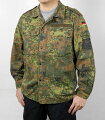 ドイツ、フレクター、カモシャツ(USED)G24U