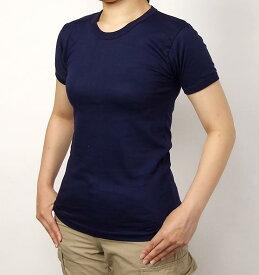 イタリア、ネービーTシャツ(新品)T96N-