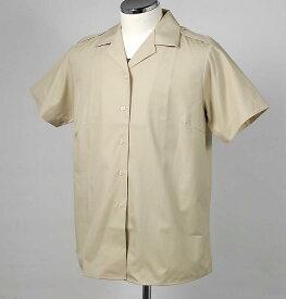 イギリス軍、カーキ、半袖ドレスシャツ(新品)レディース B15N−LDY-