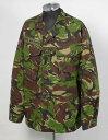 イギリス軍、DPM.カモ、ワッペン付、コンバットジャケット(USED)B23UW=