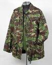 イギリス、DPM.カモ6ポケット、コンバットジャケット(USED)B34U