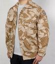 イギリス軍、DPM、デザートカモ、ファティーグシャツ(新品)B40N-