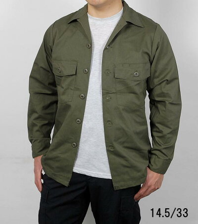 US.OD.ファティーグシャツ(新品)A14N