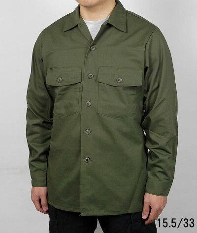 アメリカ軍ODOG-507ファティーグシャツ(新品)A14N=