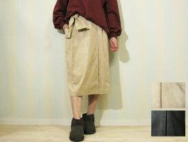 【65%OFF】ロアナ (Loana)エコスエードストレッチミモレ丈スカート