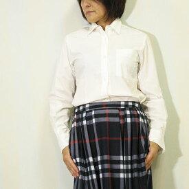 【70%OFF】【MAX2000円クーポン】Marquise de Blanc(マルキスデブラン)お袖口オックスフォード地日本製胸ポケットシャツ