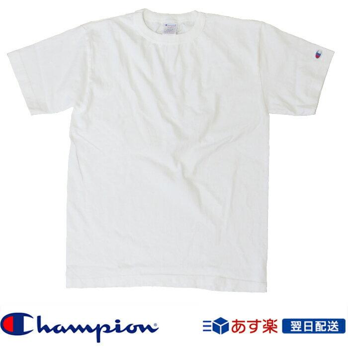 チャンピオン Champion Tシャツ T1011 US Tシャツ MADE IN USA(チャンピオン) 厚手生地Tシャツ アメカジ (c5-p301-010) ホワイト