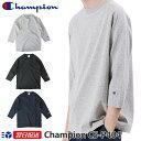 【2019SS新作】チャンピオン Champion T1011(ティーテンイレブン) ラグラン3/4スリーブ【7分袖】Tシャツ (C5-P404) ホワイト グレー ブラック ネイビー【送料無料】