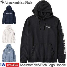【2021再入荷!】アバクロ Abercrombie&Fitch アバクロンビー&フィッチ ロゴ入りパーカー フーディー Logo Hoodie【4色】ブラック│ネイビー他《送料無料》【US限定モデル】