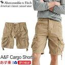 【新作!】【お買得!バーゲン中!】アバクロンビー&フィッチ 正規品 アバクロ Abercrombie&Fitch メンズ カーゴショーツ ハーフパンツ:Cargo Shorts - Dark Khak