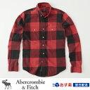 【お買得!バーゲン中!】アバクロンビー&フィッチ正規品 アバクロ Abercrombie&Fitch メンズ ネルシャツ ボタンダ…