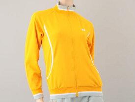 【Mサイズのみ】【廃番】YONEX(ヨネックス) レディースメッシュウォームアップシャツMサイズマンゴー58013-476-M
