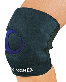 (Yonex) YONEX 肌肉力量支持者 (膝盖) 黑色 x 蓝 MPS-80SK-188 ● ●