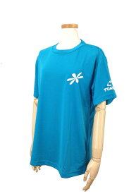 【2000円均一】TOALSON(トアルソン)アスタリスク Tシャツブルー1ET1202【16☆】●●