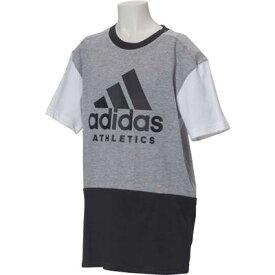 【1500円均一】【廃番】adidas(アディダス)キッズ・ジュニアB SPORT ID TシャツミディアムグレーETV07-CF6450【19☆ヤフ3】●●