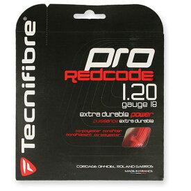 【送料無料】【よりどり3個以上で各200円引き】Tecnifibre(テクニファイバー)PRO REDCODE(プロ レッドコード)1.20mm(単張り)TFGP08-RD【定番】●●