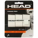 【送料無料】【よりどり3個以上で各200円引き】HEAD(ヘッド)PRIME PRO 3 PCS PACKホワイト285319-WH【定番】