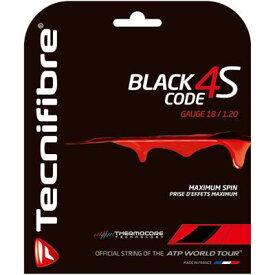 【よりどり3個で送料無料】【2000円均一】BRIDGESTONE(ブリヂストン)Tecnifibre(テクニファイバー)BLACK CODE 4S1.20mm(単張り)ストリングTFG516【17☆】●●