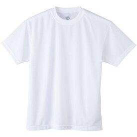 【よりどり3個で送料無料】DESCENTE(デサント) キッズ・ジュニアジュニアTシャツホワイトDMC5301JA-WHT【18☆】●●