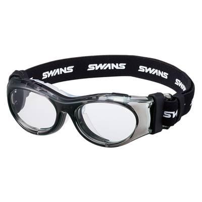 【送料無料】SWANS(スワンズ)オーダーメイド スポーツ用メガネ度付きレンズセットクリアスモークSVS600N-CLSM【定番】●●