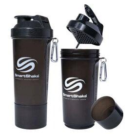 【よりどり3個で送料無料】SmartShake(スマートシェイク)シェイカーボトルS500mlブラックKSS0107【定番】●●