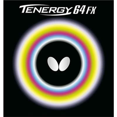【8000円均一】Butterfly(バタフライ)テナジー・64・FX卓球ラバーブラック05920-278【17☆】●●