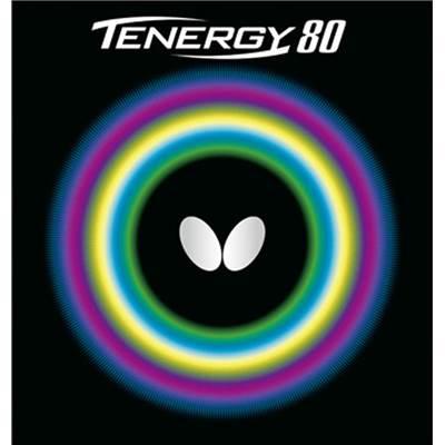 【送料無料】【8000円均一】Butterfly(バタフライ)テナジー・80卓球ラバーブラック05930-278【17☆】●●