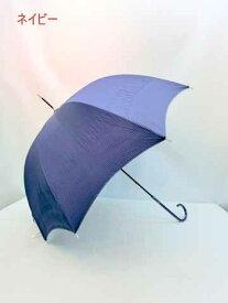 【よりどり3個で送料無料】シャーリングシワ加工 裾ラメ入り フリル58cm 手開き傘ネイビー20053-NV 【17☆】【婦人傘】