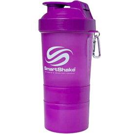 【よりどり3個で送料無料】SmartShake(スマートシェイク)シェイカーボトル600mlパープルKSS0009【定番】●●