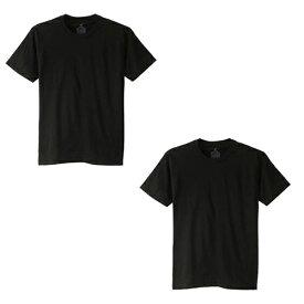 【1000円均一】【廃番】HANES(ヘインズ)XT 1P T-SHIRTS BOXTシャツ 2枚セットブラックHM1EK200-090-2SET【19☆】
