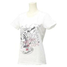 【1500円均一】【廃番】adidas(アディダス)レディース・ウィメンズG COFFEE T TシャツホワイトDDY34-F94384【16☆ヤフ2】●●
