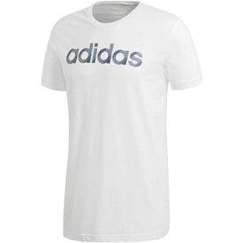 【1500円均一】【廃番】adidas(アディダス)M SLICED リニアロゴ Tシャツ半袖 シャツホワイトELG81-CV4510【18★ヤフ3】●●