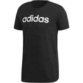 【1500円均一】【廃番】adidas(アディダス)M SLICED リニアロゴ Tシャツ半袖 シャツブラックELG81-CV4511【18★ヤフ3】●●